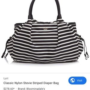 Stevie diaper bag